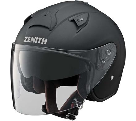 YJ-14 ZENITH(ゼニス) ラバートーンブラック Mサイズ ジェットヘルメット YAMAHA(ヤマハ・ワイズギア)