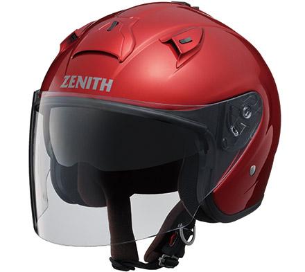 YJ-14 ZENITH(ゼニス) キャンディレッド Mサイズ ジェットヘルメット YAMAHA(ヤマハ・ワイズギア)