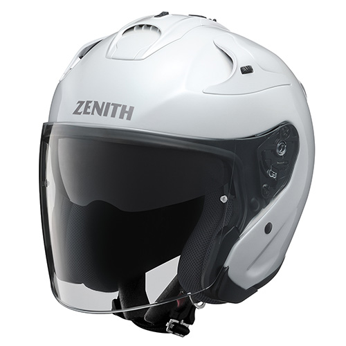 YJ-17 ZENITH-P(ゼニス-P)パールホワイト S(55~56cm)ジェットヘルメット YAMAHA(ヤマハ・ワイズギア)