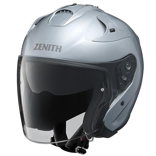 YJ-17 ZENITH-P(ゼニス-P)クリスタルシルバー XXL(63~64cm)ジェットヘルメット YAMAHA(ヤマハ・ワイズギア)