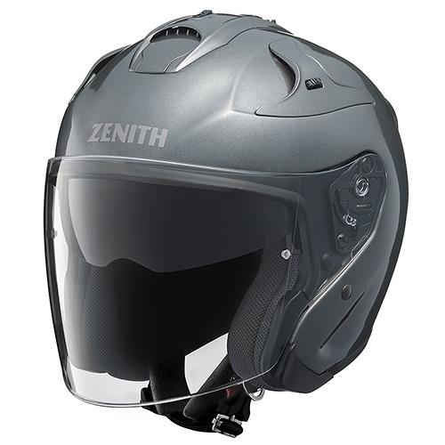 YJ-17 ZENITH-P(ゼニス-P)ダークメタリックシルバー M(57~58cm)ジェットヘルメット YAMAHA(ヤマハ・ワイズギア)