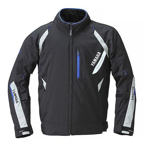 RSタイチ(TAICHI)コラボ ストライカーオールシーズンジャケット YAF56-R ブラック/ブルー Lサイズ YAMAHA(ヤマハ・ワイズギア)
