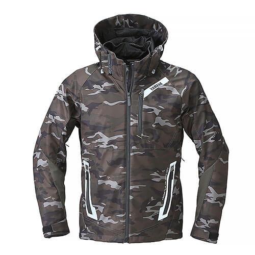 RSタイチ(TAICHI)コラボ ソフトシェルオールシーズンジャケット YAF57-R カモ Mサイズ YAMAHA(ヤマハ・ワイズギア)
