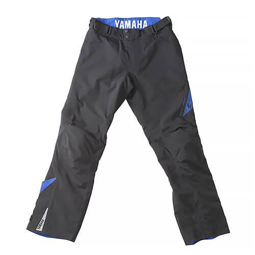 RSタイチ(TAICHI)コラボ マトリックスオーバーパンツ YAF58-R ブラック/ブルー レディースMサイズ YAMAHA(ヤマハ・ワイズギア)