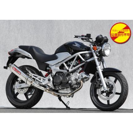 SPEC-A ステンレスマフラー2-1 TYPE-S レース専用 YAMAMOTO RACING(ヤマモトレーシング) VTR250(09年モデル~)