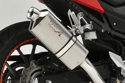 CBR400R(16~18年) SLIP-ON TYPE-S スリップオンマフラー YAMAMOTO RACING(ヤマモトレーシング)