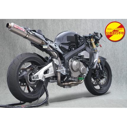 SPEC-A チタンマフラー4-2-1チタン/レース専用 YAMAMOTO RACING(ヤマモトレーシング) CBR600RR(05~06年)