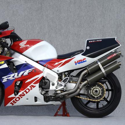 RVF750(RC45) チタン4-2-2 フルエキゾーストマフラー ケブラー レース専用 YAMAMOTO(ヤマモトレーシング)