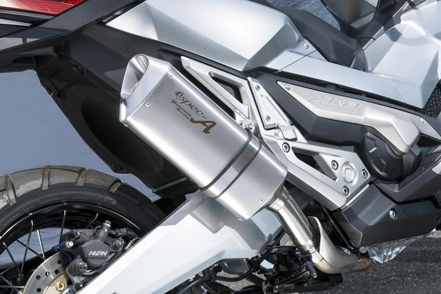 X-ADV スリップオンマフラー YAMAMOTO RACING(ヤマモトレーシング)