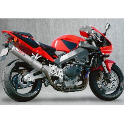 SPEC-A スリップオンマフラー チタン4-2-1ダウン チタン YAMAMOTO RACING(ヤマモトレーシング) CBR954RR