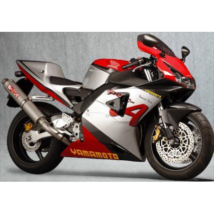 SPEC-A チタンマフラー4-2-1アップ チタン YAMAMOTO RACING(ヤマモトレーシング) CBR954RR