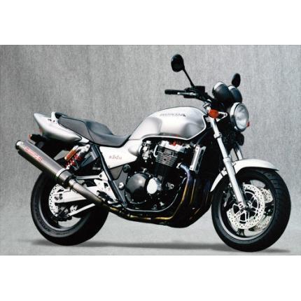 SPEC-A チタンマフラー4-2-1 カーボン YAMAMOTO RACING(ヤマモトレーシング) CB1300SF(~02年)