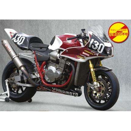 SPEC-A チタンマフラー4-2-1 8耐仕様 YAMAMOTO RACING(ヤマモトレーシング) CB1300SF(03~07年)