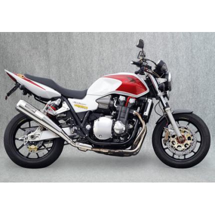 SPEC-A スリップオンマフラー ステンレスメガホン YAMAMOTO RACING(ヤマモトレーシング) CB1300SF(03~07年)