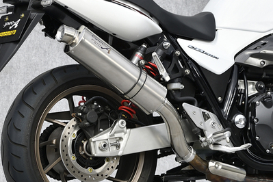 CB1300SF・SB(18年) チタン アップタイプ スリップオンマスラー YAMAMOTO RACING(ヤマモトレーシング)