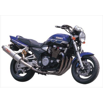 SPEC-A チタンマフラー4-2-1 チタンサイレンサー YAMAMOTO RACING(ヤマモトレーシング) XJR1300(00~02年)