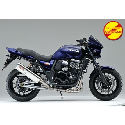 SPEC-A チタンマフラー4-2-1 TYPE-S2 レース専用 YAMAMOTO RACING(ヤマモトレーシング) ZRX1200 DAEG(ダエグ)09年