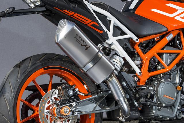 KTM 390DUKE(17年) スリップオンマフラー UP-TYPE TYPE-SA JMCA認証 YAMAMOTO RACING(ヤマモトレーシング)