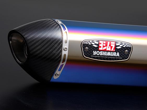 GSX-S125(ABS)17年 機械曲R-77S サイクロン カーボンエンド EXPORT SPEC 政府認証 STBC YOSHIMURA(ヨシムラ)