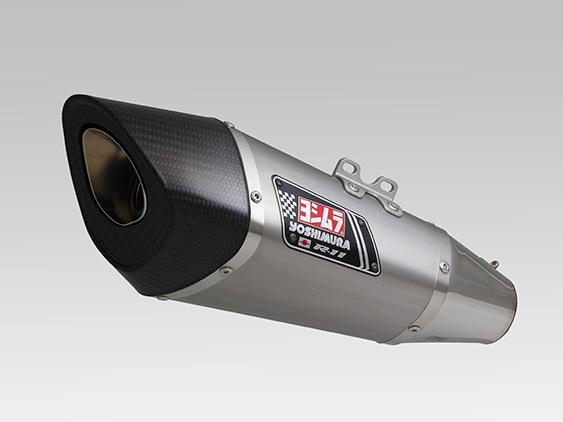 YZF-R3(EBL-RH07J) スリップオン R-11 サイクロン 1エンド EXPORT SPEC 政府認証(ヒートガード付属) ST (チタンカバー) YOSHIMURA(ヨシムラ)