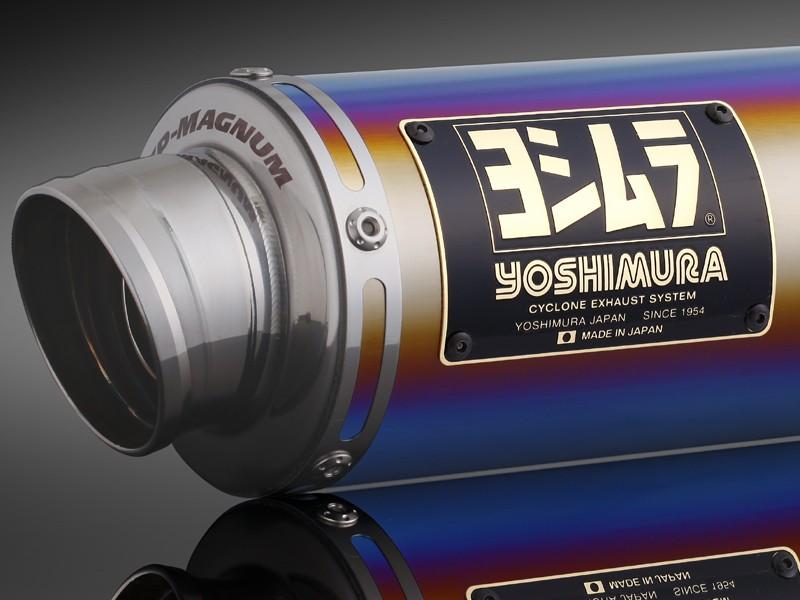 Ape100(エイプ)(~07年)/D(08~10年) レーシングチタンサイクロン GP-MAGNUM TTB (チタンブルーカバー) フルエキゾースト YOSHIMURA(ヨシムラ)