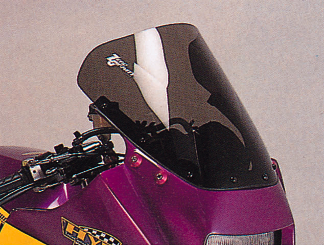 GPZ900R Ninja(ニンジャ)A1~A16 スクリーン ダブルバブル ダークスモーク ゼログラビティ(ZERO GRAVITY)