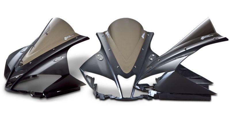 YZF-R125/(ABS)08~15年 スクリーン ダブルバブル スモーク ゼログラビティ(ZERO GRAVITY)