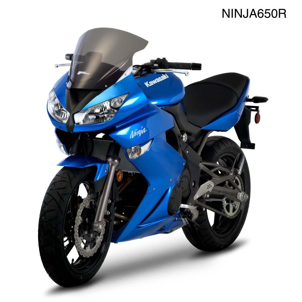 ER-6F/Ninja650(09~11年) スクリーン SRタイプ ダークスモーク ゼログラビティ(ZERO GRAVITY)