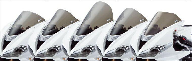 GSX-R1000/(ABS)17年 スクリーン コルサ クリア ゼログラビティ(ZERO GRAVITY)