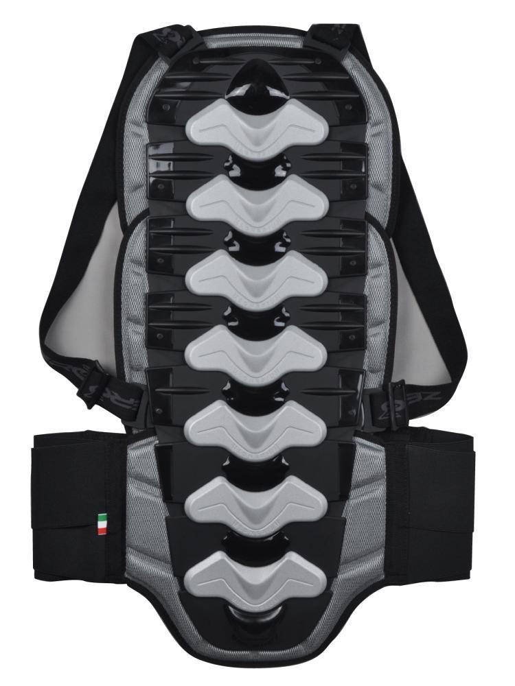 バックプロテクター ブラック XLサイズ ZERO7(ゼロセブン)