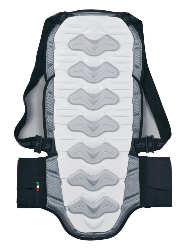 バックプロテクター ホワイト Mサイズ ZERO7(ゼロセブン)