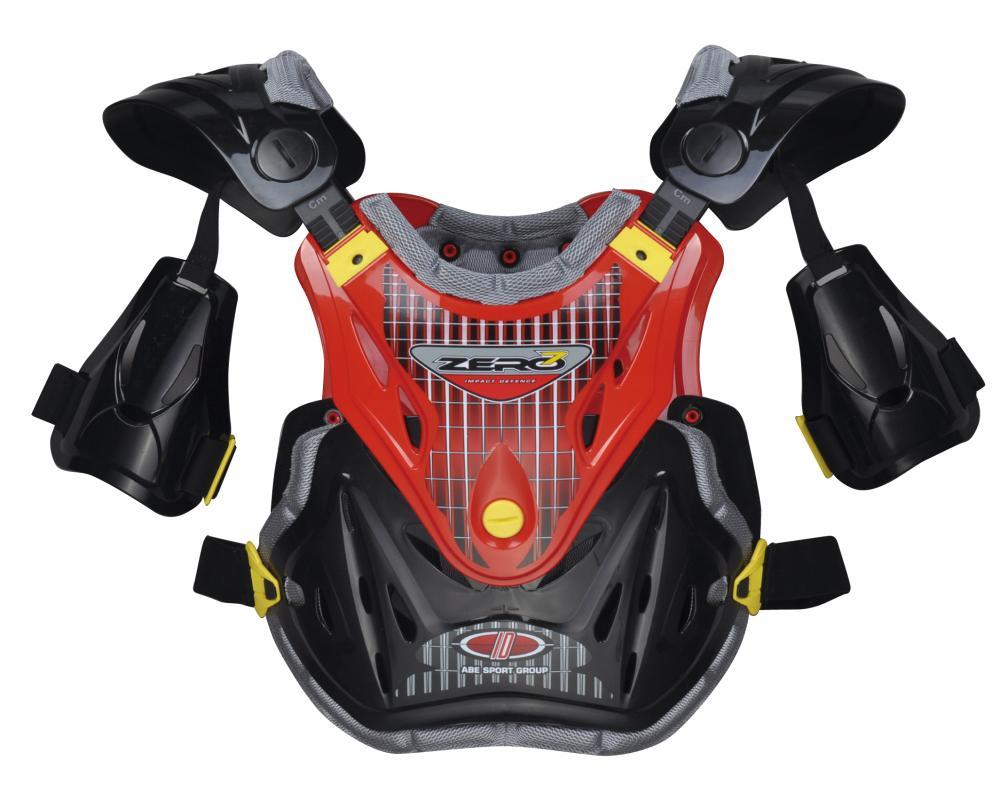 IDX1 プロテクター レッド ZERO7(ゼロセブン)