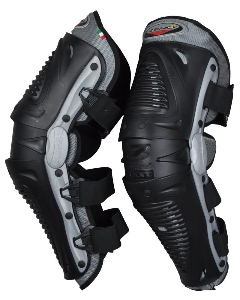 IDK1 ニープロテクター ブラック ZERO7(ゼロセブン)
