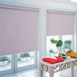 タチカワ TIORIOティオリオ ロールスクリーン遮光2級防炎規格品 巾165×高さ200cm TR-3365・ピンク
