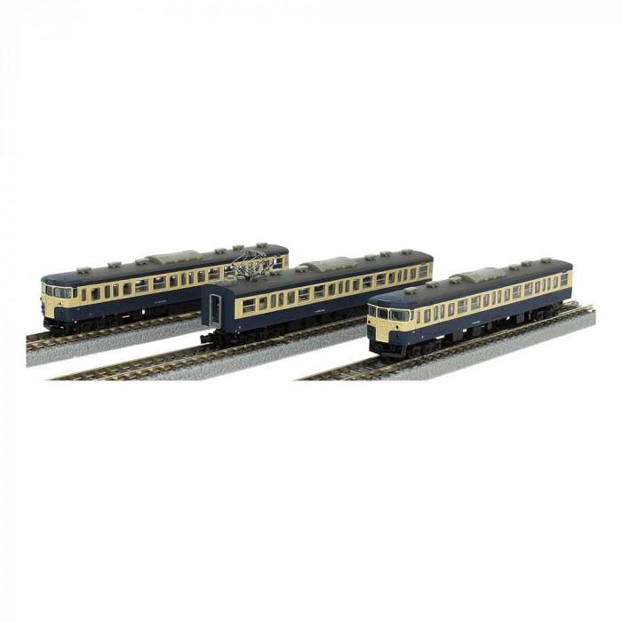 115系 1000番代 横須賀色 3両セット T011-3
