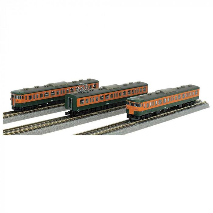 115系 1000番代 湘南色 3両セット T011-7