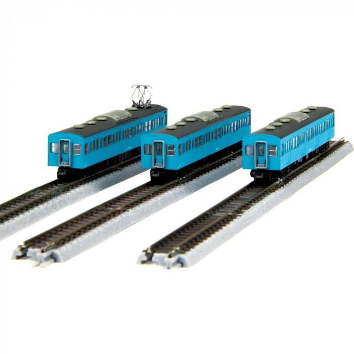 国鉄103系 スカイブルー 京浜東北線タイプ 増結3両セット T022-2