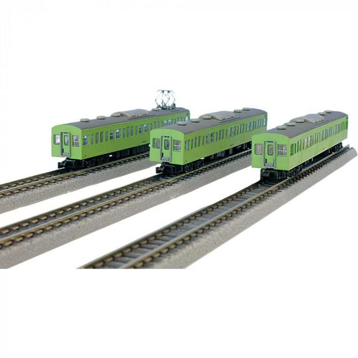 国鉄103系 ウグイス 山手線タイプ 増結3両セット T022-6