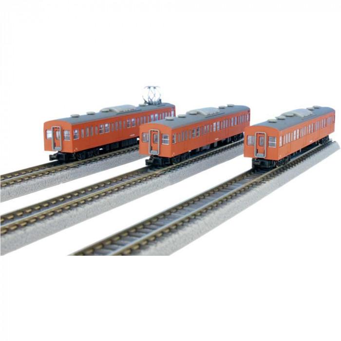 国鉄103系 オレンジ 中央線タイプ 増結3両セット T022-8