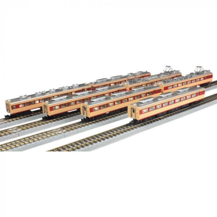 国鉄485系特急電車 初期型 ひばり 7両増結 T030-2