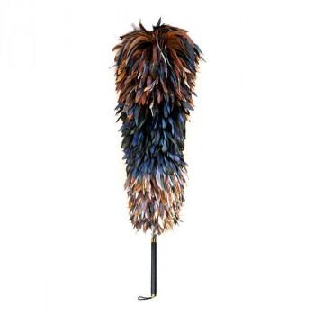 石塚羽毛 日本製 ニワトリ毛ばたき 1100mm K180