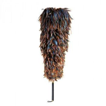 石塚羽毛 日本製 ニワトリ毛ばたき 1150mm K250