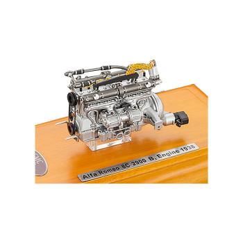 CMC/シーエムシー アルファ・ロメオ 8C 2900 B エンジン (1938) ケース付 1/18ケース M131