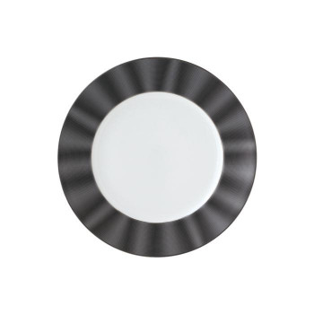 NIKKO ニッコー 30cmサービスプレート SILK BLACK 11734-1010