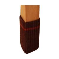 床の傷つき防止 消音効果 スマイルキッズ 受賞店 SMILE KIDS AIC-02 4個入 新作製品、世界最高品質人気! ブラウン キズつきにくいテーブル脚カバー