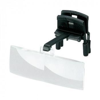 エッシェンバッハ ラボ・クリップ 眼鏡にはさむクリップタイプの作業用ルーペ (1.7倍/2.5倍) 1646-202