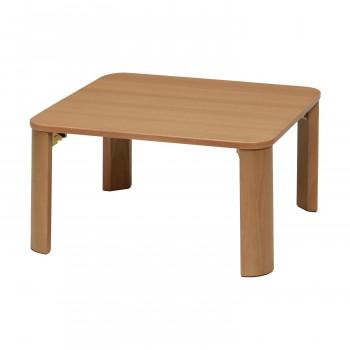 ines(アイネス) 折りたたみテーブル(60×60cm) NA・ナチュラル