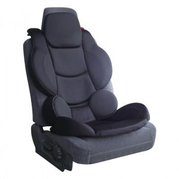 しっかりしたホールド感で運転をサポートするシート 高品質新品 プロファクト 運転サポート 正規品送料無料 プレミアムフルサポート BK SUS-002