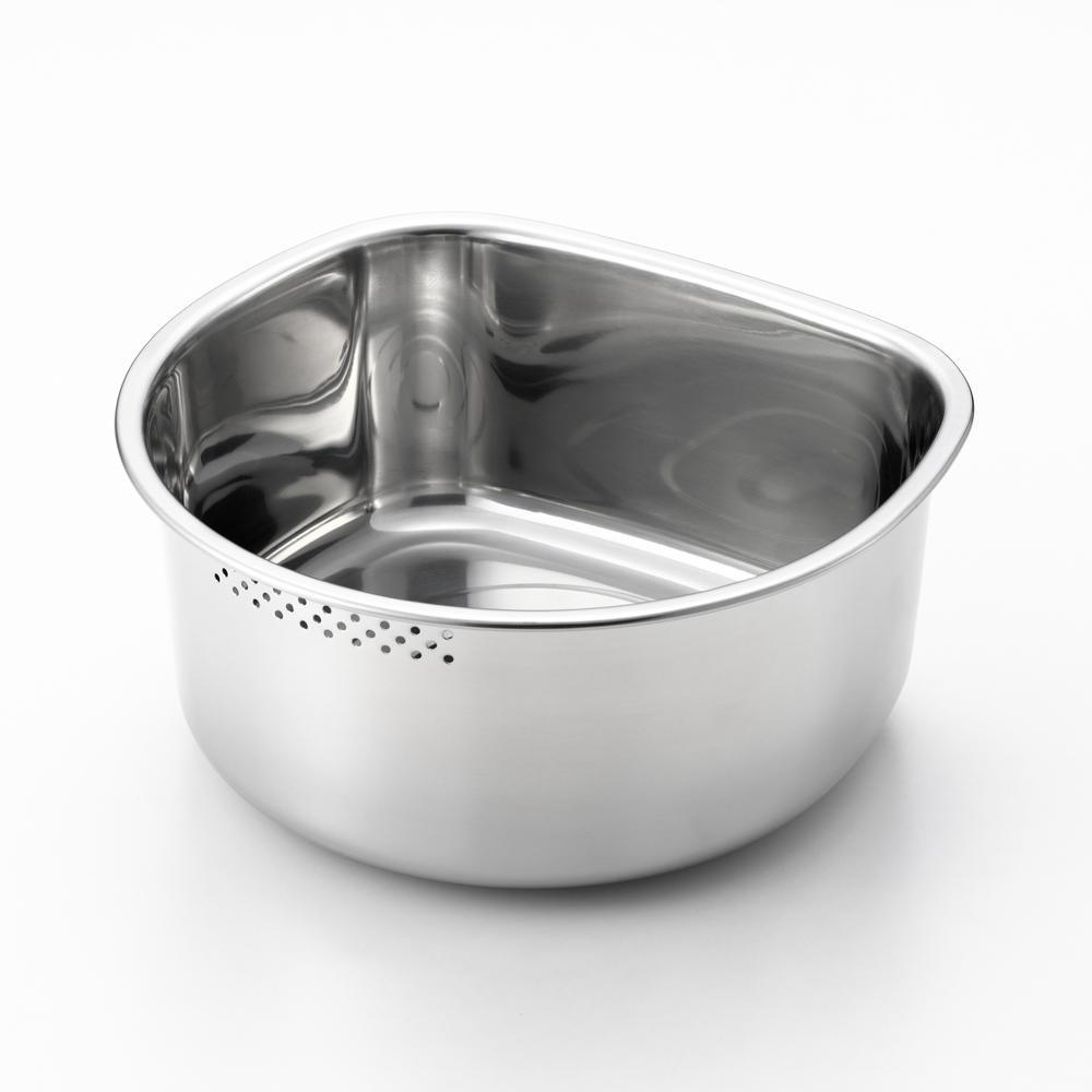 食材や食器洗いにも使えます スイーズ D型洗い桶小 穴明き オンライン限定商品 春の新作シューズ満載 ゴム足付き SJ2500