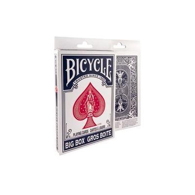 ビッグサイズのトランプ プレイングカード 中古 バイスクル ビッグ 今だけ限定15%OFFクーポン発行中 PC8082B 青